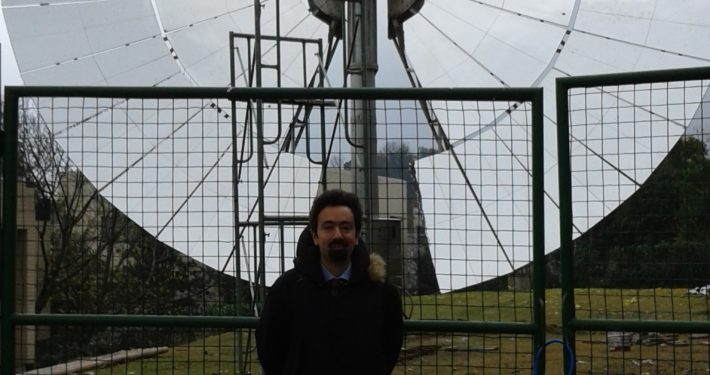 Prof. M.L. Ferrari at the CSP laboratories of the Zhejiang University (China)