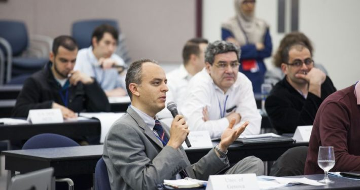 Alberto Traverso at the Low Emission Advanced Power systems workshop, organised and hosted by the National Energy Technology Laboratory (NETL) in Morgantown (WV-USA), 2-6 May 2016.