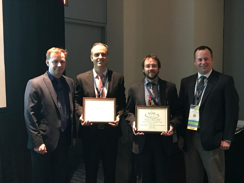 Asme Turbo Expo 2018 >> Awards - TPG - Thermochemical Power Group